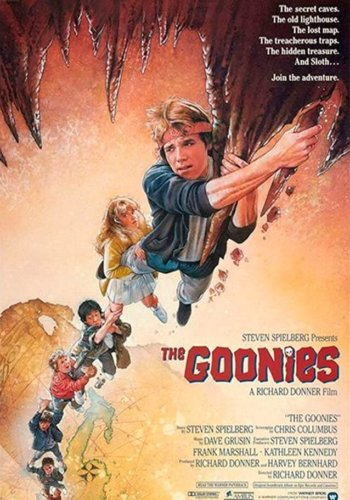 THE GOONIES, Friday, July 3rd, 7:00PM, Saturday, July 4th, 1:00 & 7:00PM, Sunday, July 5th, 1:00PM